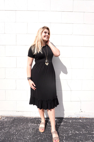 Bethany's Black Dress