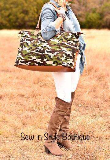Chloe-girl Camo weekend bag!!