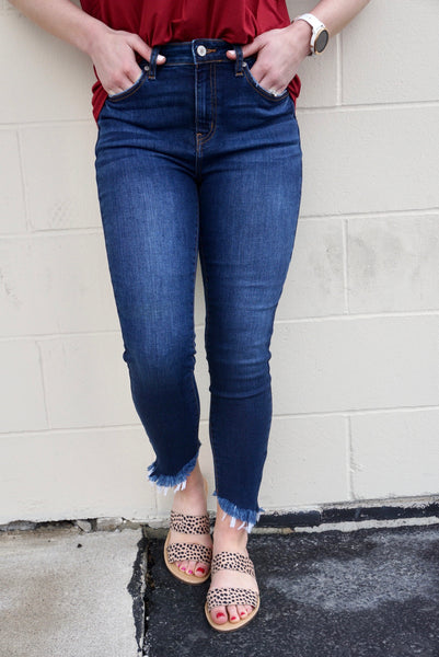 Fiona's Fabulous Frayed Jeans
