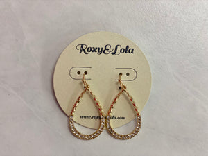 R&L Dash of Class Earrings