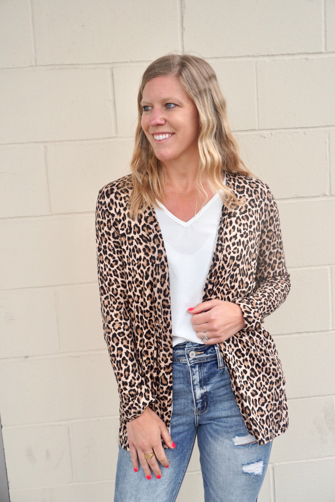 Leopard Lover's Cardigan