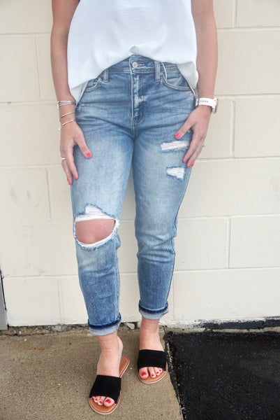 Rogan's Relaxed Fit Denim Jeans