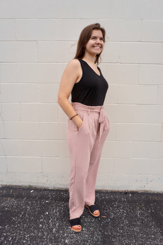 Mauve work wear Pants