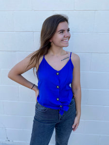 Brynn's Royal Button Tank