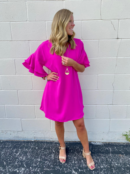 Fuchsia Fusion Dress