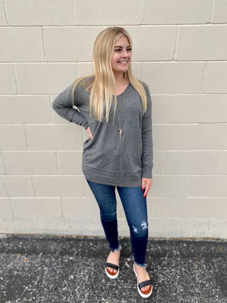 Everyday Grey Sweater