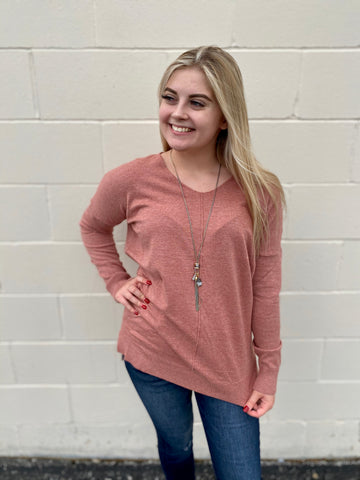 Everyday Rose Sweater