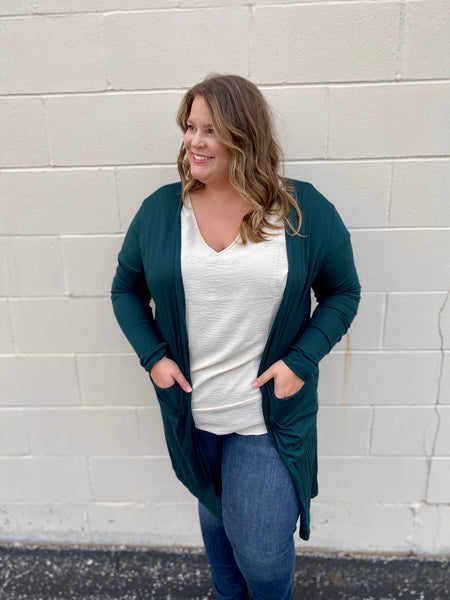 Emerald Light Weight Cardigan