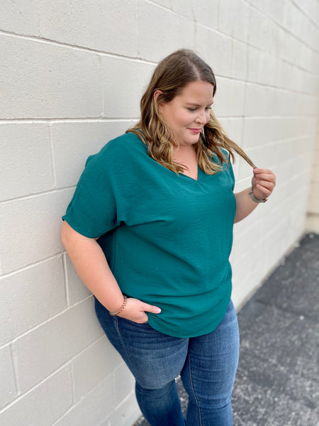 Payton's Perfectly Emerald Top