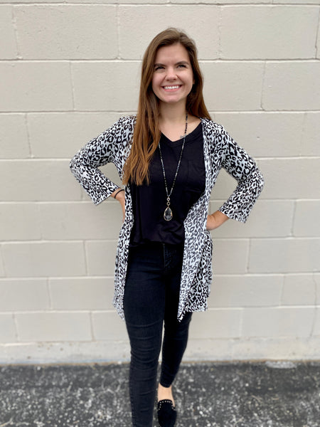 Black, White, Leopard All Over
