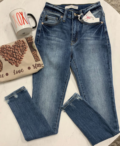 Minnies medium wash jeans
