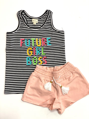 KIDS Girl Boss Tank