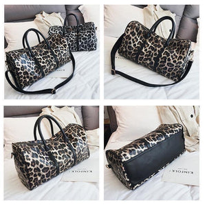 Leopard Weekend Duffle