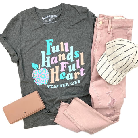 Full hands, full heart - Teacher life tee