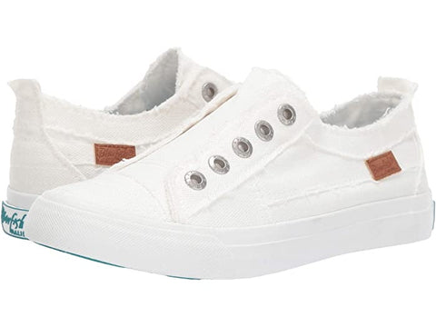 Wendi's White Blowfish Play sneakers