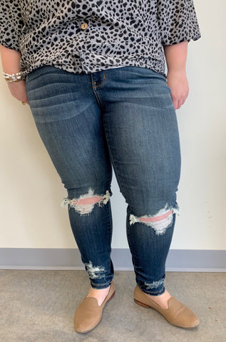 Maddie's medium wash curvy girl denim