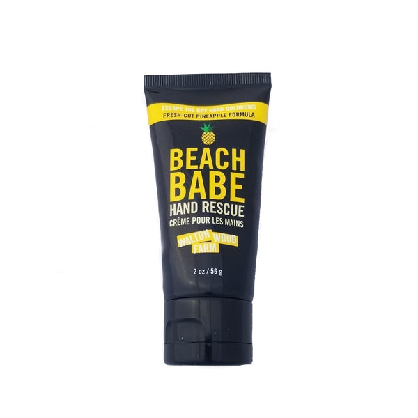 Beach babe hand rescue