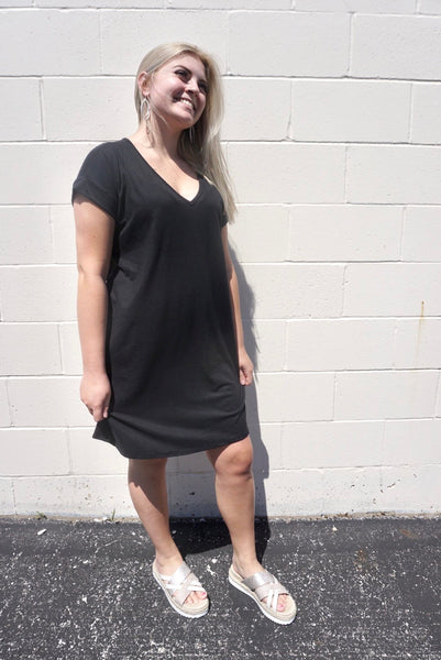 Black Buttery Dress