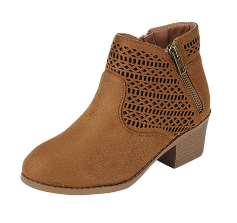 KIDS camel booties