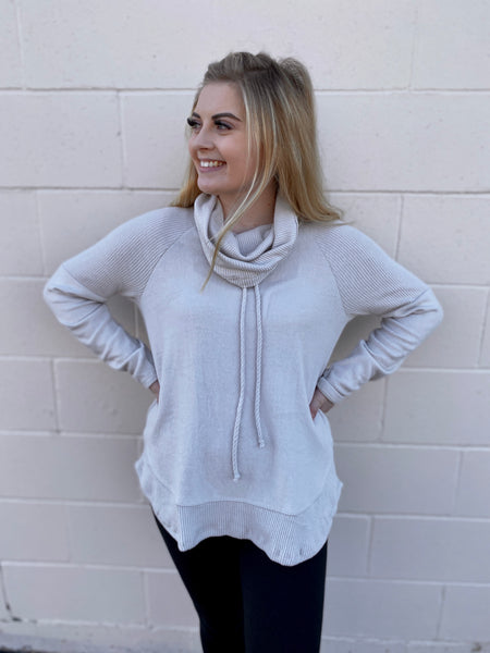 Counting On Cowl Neck Top