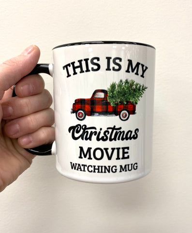 This is my a Christmas watching mug
