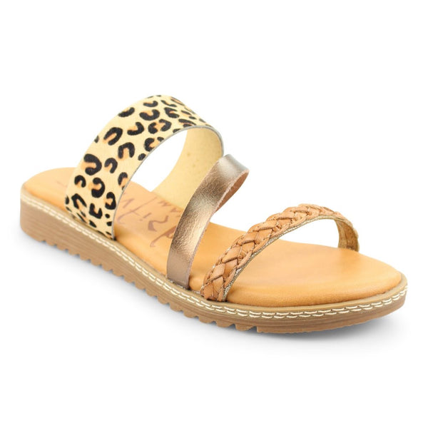 Taylor's Tan Cheetah Sandals
