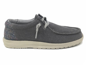Men's Grey David Boat Shoe