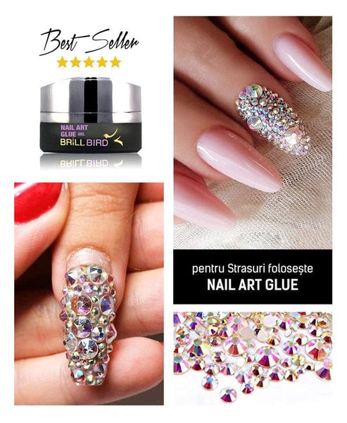 BB nail art glue gel