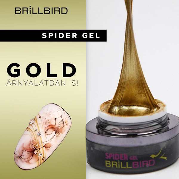 BB Spider gel - Gold