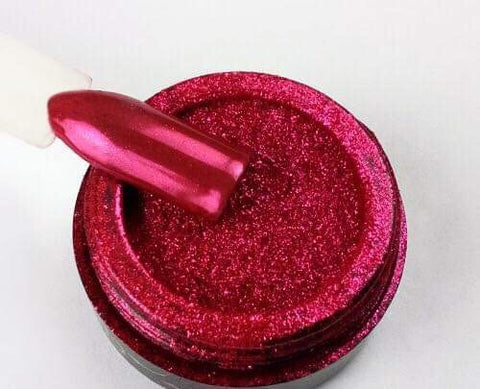 Chrome powder - Red