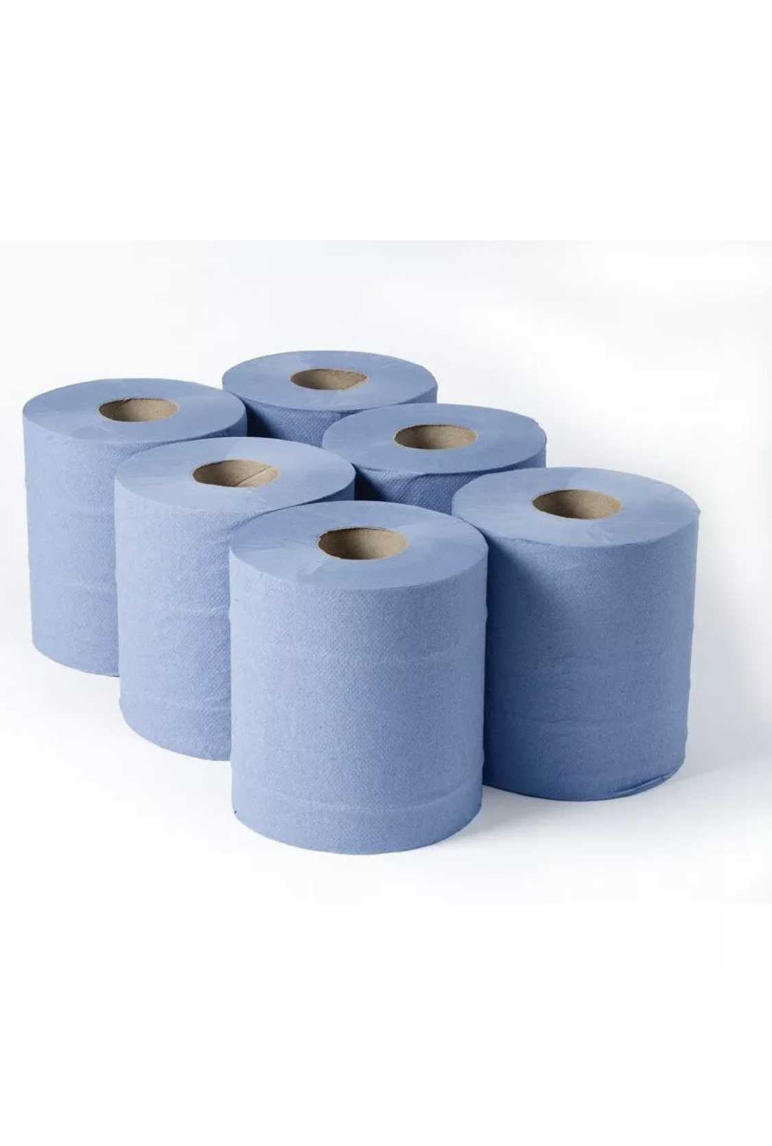 Paper Blue Center Feed Roll