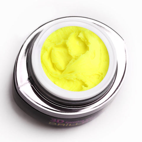 3D forming gel - Neon yellow
