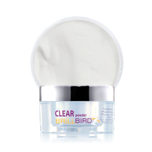 Clear acrylic powder