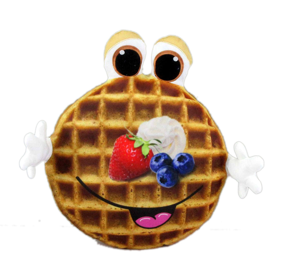Waffle Food Plush Toys Pillow, 16