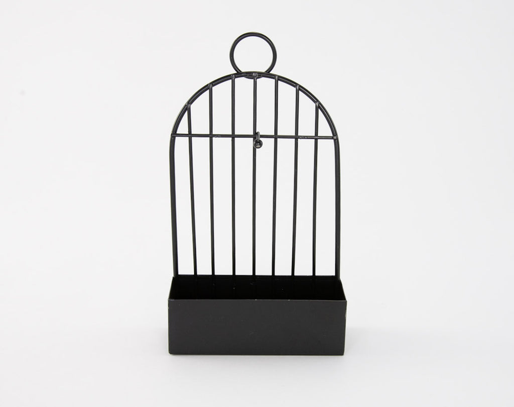 Small Wall Mounted Decorative Bird Cage Shelf