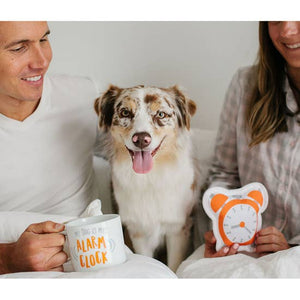 My Dog Is My Alarm Clock Owner/Pet Gift Set