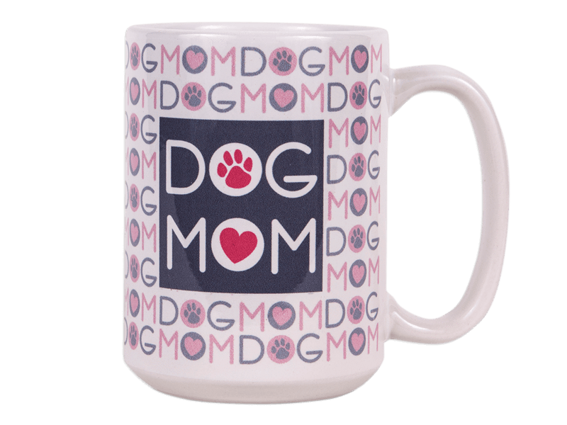 15oz Big Mug - Dog Mom