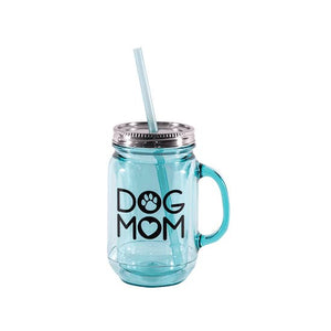 Dog Mom Mason Jar