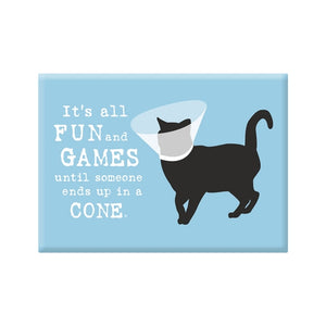 Cat Cone Magnet