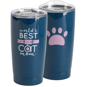World's Best Cat Mom Stainless Steel Tumbler