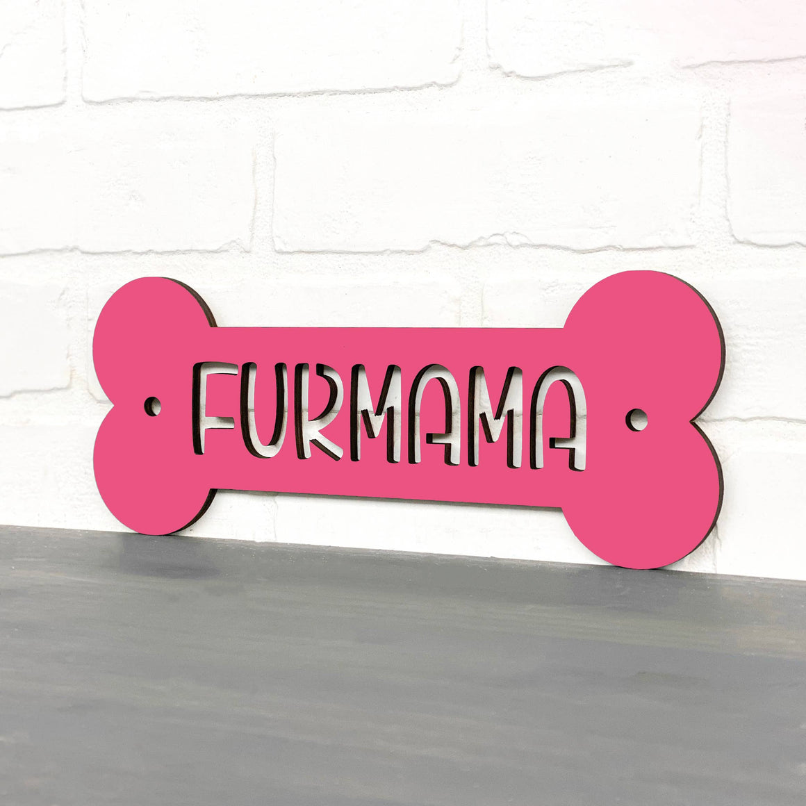 Furmama Wooden Sign