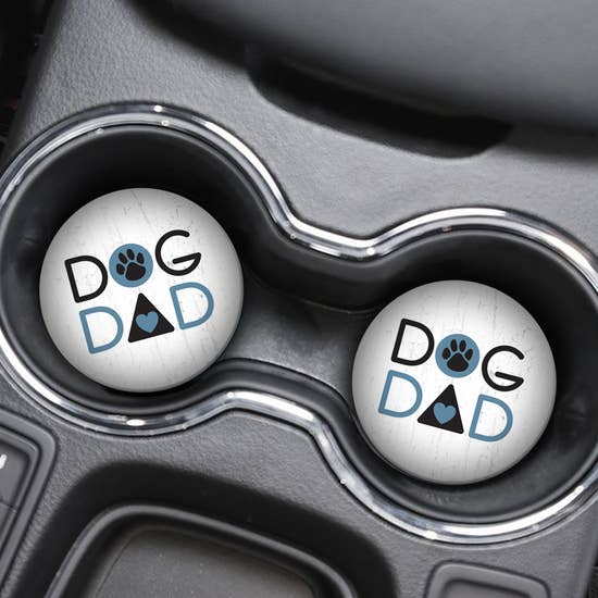 Car Coaster - Dog Dad