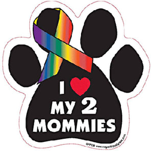 Paw Magnets - My 2 Mommies