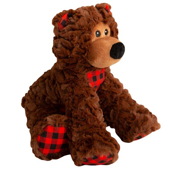 Bear Plush Dog Toy