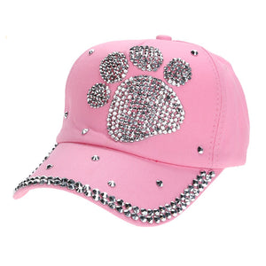 Baseball Cap - Bling Paw - Child