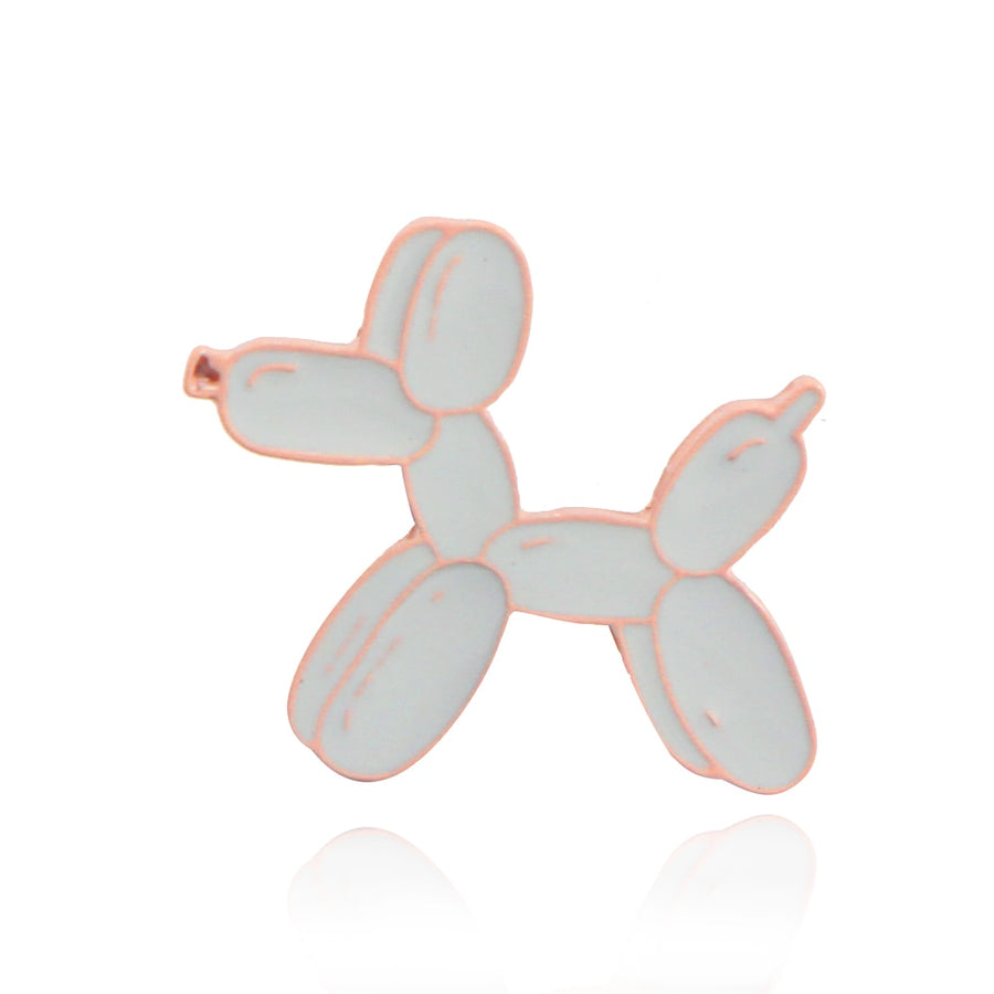 Balloon Dog Brooch Pin