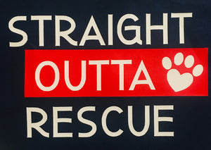 Straight Outta Rescue- Bandana
