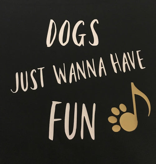 Dogs Just Wanna Have Fun Bandana-Web Exclusive!