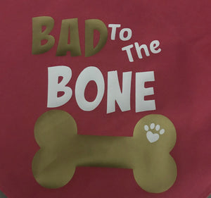 Bad To The Bone Bandana-Web exclusive!
