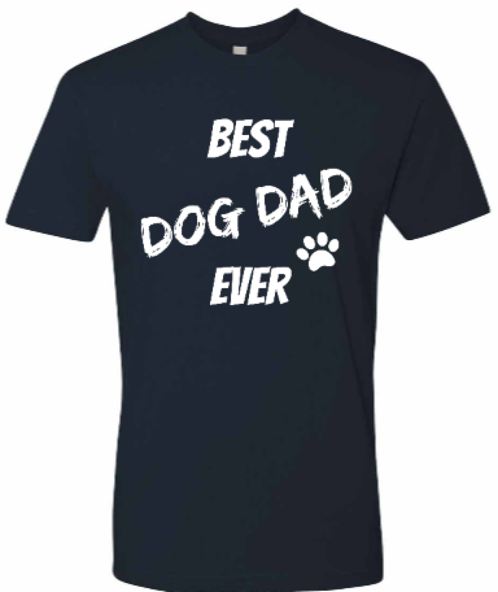 Best Dog Dad Ever-Tee